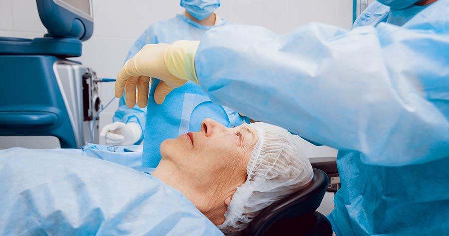 عمل جراحی آب مروارید یک عمل جراحی شایع و بدون خطر است